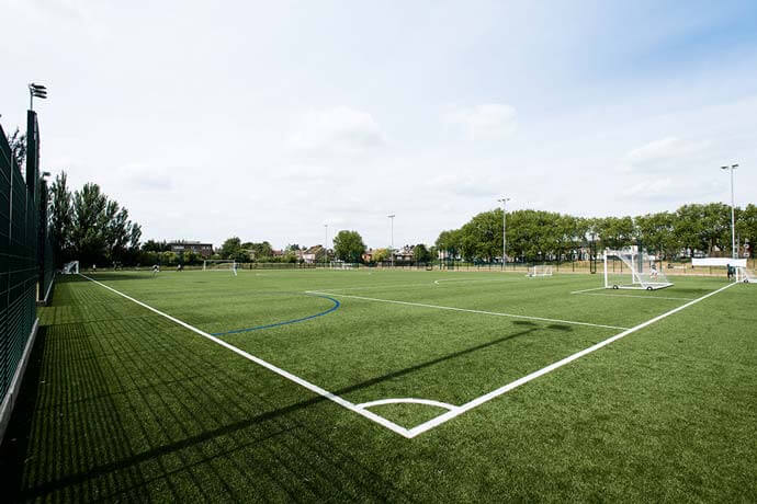 Over 2,000 football pitches for hire