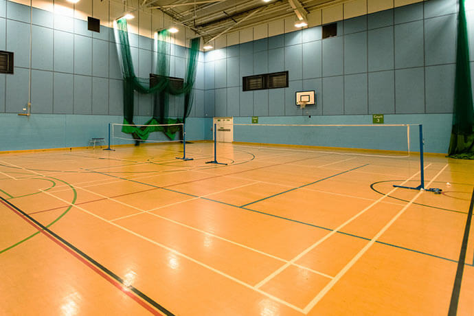 Badminton Courts in London