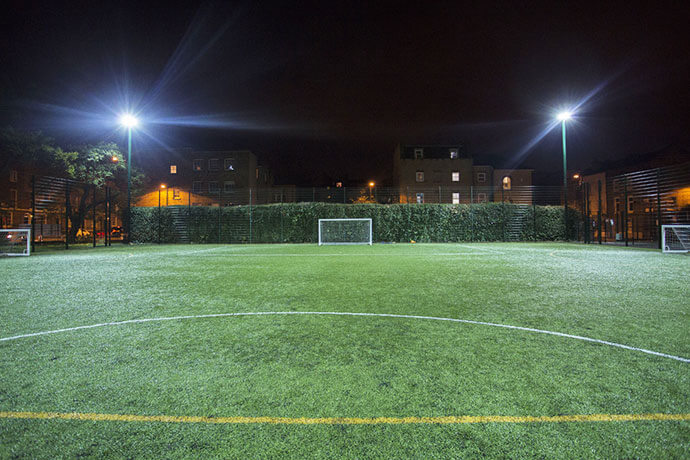 Football Pitches in London